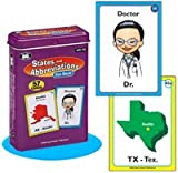 States and Abbreviations Fun Deck - Super Duper Educational Learning Toy for Kids