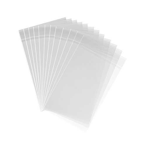 200ct Clear Plastic Bags 4x6-1.4 mils Thick Self Sealing for sale  Delivered anywhere in USA