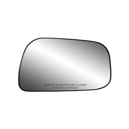 Fit System 80126 Toyota Camry Sedan Right Side Manual/Power Replacement Mirror Glass with Backing - Mirror Toyota Right Camry