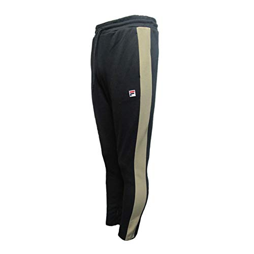 Fila Vintage Setter Settanta Track Pant | Black/Khaki Medium Black ()