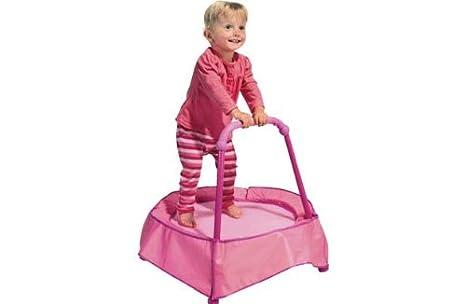 HSB] chad-valley rosa para cama elástica con asa de apoyo con Pack ...