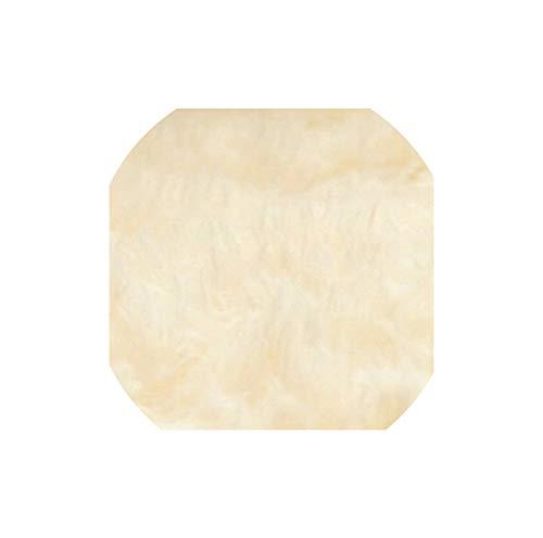 Plush Soft Shaggy Carpet Non-Slip Floor Mats for Living Room Bedroom Home Decoration Supplies,Rice Yellow,50cm x 120cm
