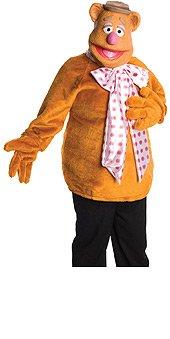 Fozzie Bear Costume - Standard - Dress Size 10-12 (Fozzie Bear Adult Costume)