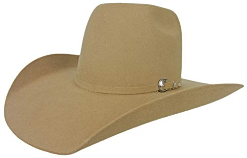 - Resistol Mens Tuff Hedeman Pay Window 3X Wool Cowboy Hat
