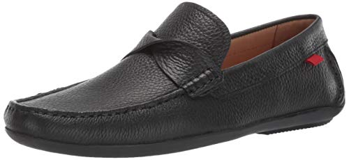 - Marc Joseph New York Mens Genuine Leather Made in Brazil Plymouth Twisted Driver Driving Style Loafer, Black Grainy, 10.5 D(M) US
