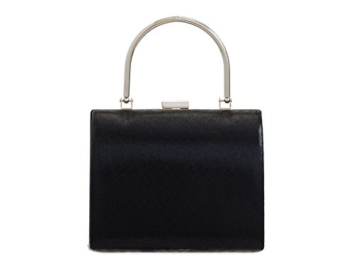Handle Diva Top For Navy Ladies Bag Haute Clutch Black IZgqA