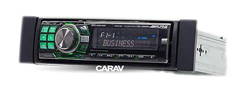 Carav 11 034 mascherina per autoradio per cruscotto dell/'automobile con kit d/'installazione 182/x 53/mm