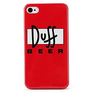 GJY Simple Style Pattern Hard Case for iPhone 4/4S