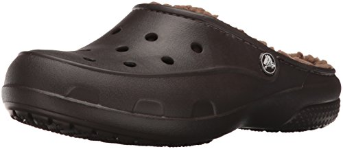Espresso Marrone Freesail Zoccoli Clog Donna Plushlined Crocs YvOZqw