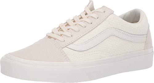 Vans VN-0A38G1VMT: Women's Check Old Skool Marshmellow/Snow White Sneakers (6 B(M) US Women)
