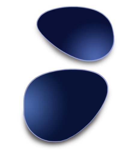 2735e2d6009 ZEISS Lenses for Ray-Ban RB3386 63mm Midnight Blue Mirror Polarized - Buy  Online in UAE.
