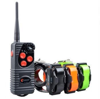 Cheap Aetertek AT-216D Rechargeable 600 Yard Remote Pet Dog Trainer Dog Training Electric Shock Collar Water-resistant For 3 Dogs