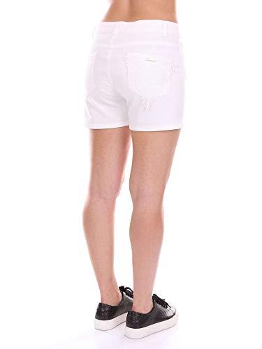 Shorts Twinset Twinset Donna Ms8lgg Bianco Ms8lgg wSq6xv8Pg