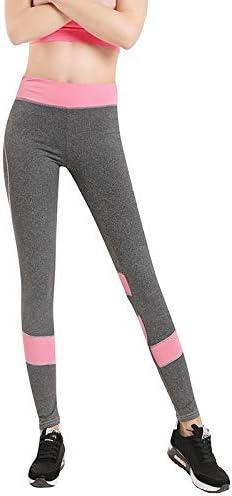 Vshiaifen くすみ ヨガウェア ヨガ レギンス ヨガパンツ ウエア 着圧レギンス ヨガスパッツ フィットネス フィットネスウェア スポーツウェア かわいい レディース ストレッチ パンツ おしゃれ スポーツ 夏用 大人 (Color : Pink, Size : XL)