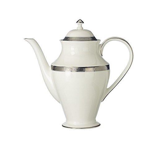 Waterford China New Grange Platinum Beverage Pot