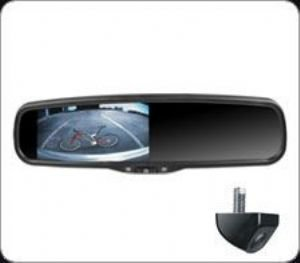 4.3″ Mirror Monitor with Camera Combo Kit, 2 Video In with 1Video auto-trigger switching for back-up camera. Review