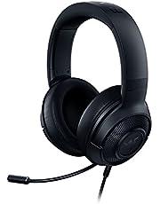 Razer Kraken X - gaming-headset (ultralichte gaming-headset voor pc, Mac, Xbox One, PS4 en switch, hoofdbandvulling, 7.1 surround sound) zwart