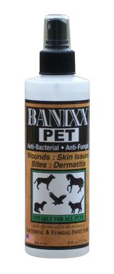 Banixx 8 Oz for Pets Healing Spray. Leaves No Color or Odor and Contains No Antibiotic by RJ Matthews