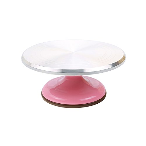 Sanneng Revolving Cake Decorating Stand (Pink)