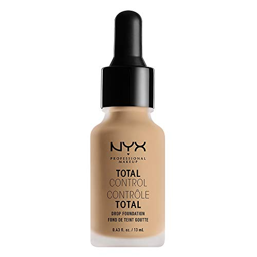 NYX PROFESSIONAL MAKEUP Total Control Drop Foundation - Nude, Light With Golden Undertones
