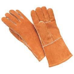Y1903L - Large - Premium Double-Tanned Heavy-Split Cowhide Welder's Gloves, Wells Lamont - - Cowhide Corp Lamont Wells Glove