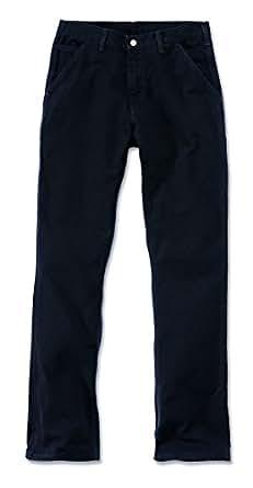 Carhartt. EB011. Blk. S413lavado pato trabajo dungaree, W34/L34, color negro