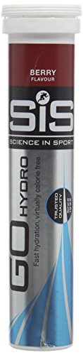 Science in Sport Go Hydro Hydration Tablets - Berry, Tube of 20