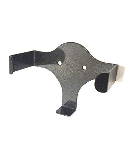 GadgetGear Metal Wall Mount Echo Dot 3rd Generation Holder Bracket Case Stand for Smart Home Speaker Assistant (Black)