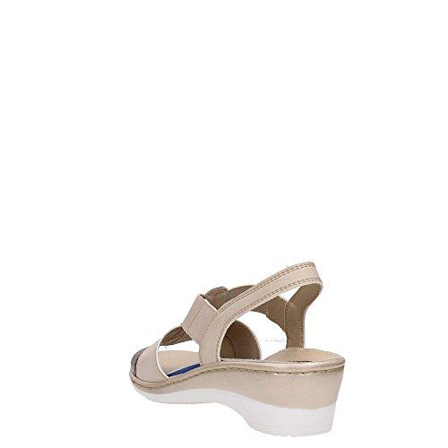 MELLUSO - Sandalias de Vestir para Mujer Beige Arena IKmG89t4d