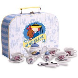 Schylling Madeline Tea Set and Cardboard Case by Schylling