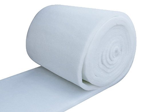IZO All Supply Bonded Dacron Upholstery Grade Polyester Batting 48 Inch Wide (5 yards) (Upholstery Pillow)