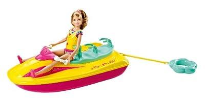 Barbie Sisters Jet Ski And Stacie Doll Set by Mattel