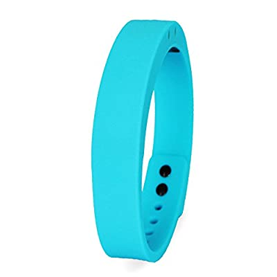 Smart Wristband (Blue) Bluetooth V4.0 Water Resistant Health and Fitness Tracker Bracelet