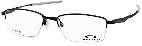 Oakley OX 5119 01 Limit Switch 0.5 Satin Black Metal Rectangle Eyeglasses 52mm ()