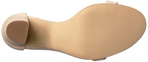 Sandali In Pelle Scamosciata Con Sandalo Osso Sandalo