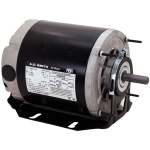 A.O. Smith RB2024 1/4 hp, 1725 RPM, 115 volts, 48 Frame, ODP, Ball Bearing Belt Drive Blower Motor by A. O. Smith