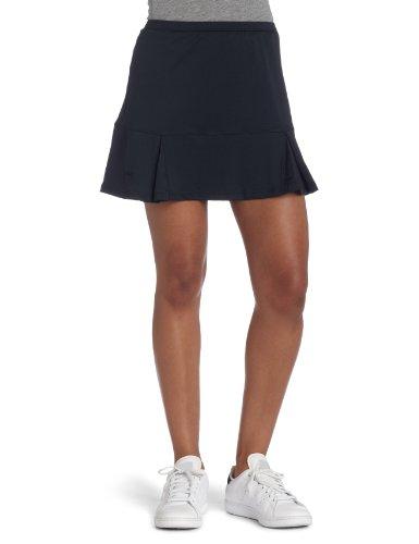 Bollé Women's Essential Godet Tennis Skirt, Black, Large (Godet Hem Skirt)