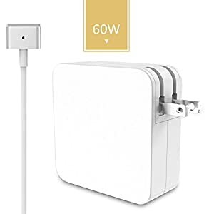 Swtroom Replacement Macbook Charger 60w T-Tip Power Adapter Charger for Mac book Pro 13.3