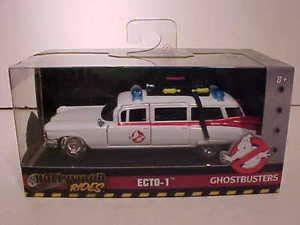 BHCAT Ghostbusters 1959 Cadillac Ambulance Ecto-1 Diecast Car 1:32 Toys 5 inch ()