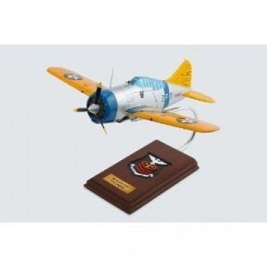 Mastercraft Collection F2A-2 Buffalo Wood Model Aircraft