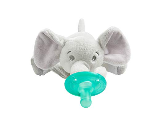 Philips Avent Soothie Snuggle Pacifier, 0-3 Months, Elephant, SCF347/03 from Philips AVENT