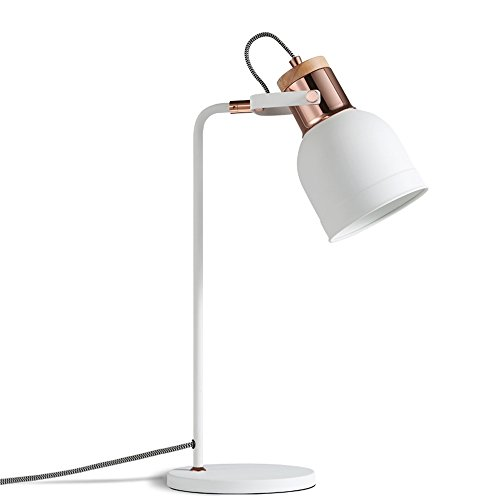Wrought Iron Table Lamp, Student Dormitory Warm Desk Anti-myopia Small Desk Lamp, Iron Adjustable Desk Lamp Modern Study Room Learning Writing Eye Reading Lamp by JYKJ