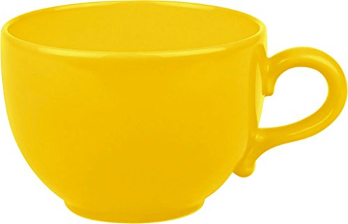(Waechtersbach Fun Factory II Buttercup Jumbo Cups, Set of 4)