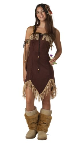 California Costumes Women's Indian Princess Costume,Brown,7-9