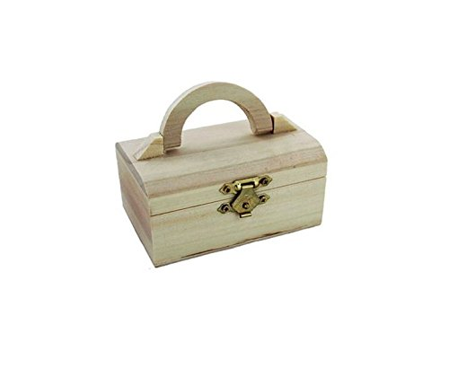 Wooden Mini Chest Box Memory Box Storage Trinket Treasure Paint Arts Crafts UK By Accessories Attic®