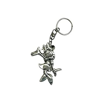 Disney Minnie Mouse Keychain Metal Plate Key Ring  Amazon.co.uk ... a3871f73e