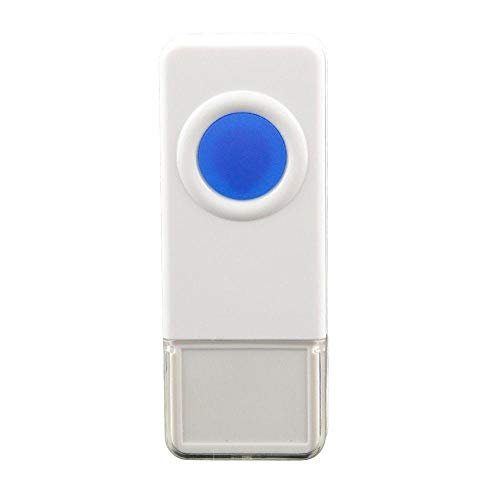 (STARPOINT Extra Add-On Remote Waterproof Transmitter Button for the STARPOINT Expandable Wireless Multi-Unit Long Range Doorbell Chime Alert System, Model LTW, White )