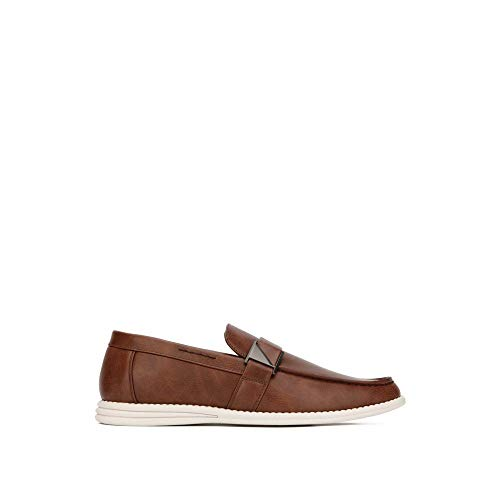 Unlisted by Kenneth Cole Men's EMERSIN Slip ON Loafer, Brown, 10.5 M US
