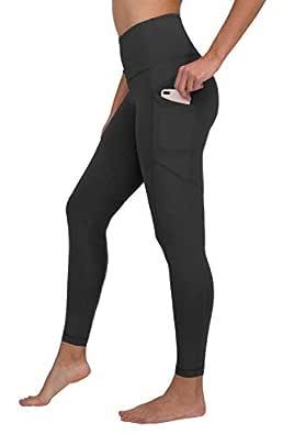 90 Degree By Reflex High Waist Interlink Yoga Pants - Black 2019 - Medium