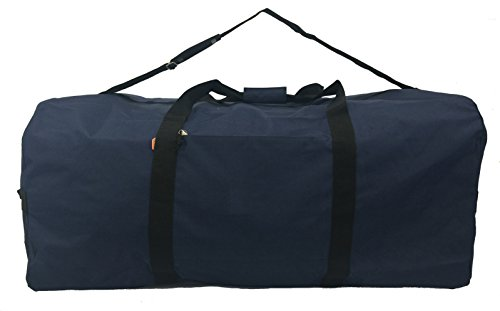 Heavy Duty Cargo Duffel Large Sport Gear Drum Set Equipment Hardware Travel Bag Rooftop Roofbag Rack Bag 42 Inch Navy Traveling Bags